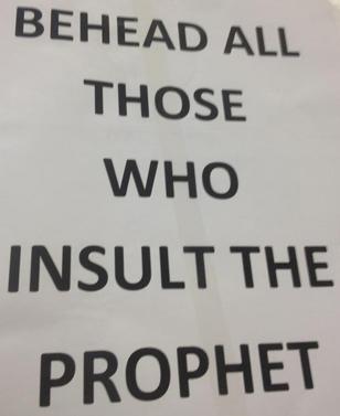Islamic Protest and Affray, Sydney CBD (15 September 2012)
