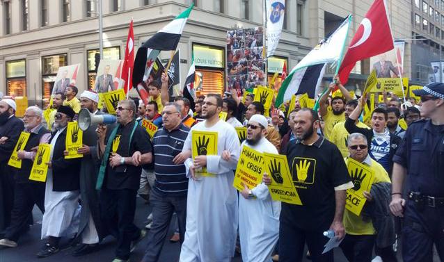 Islamic Protest Sydney - 1 September 2013