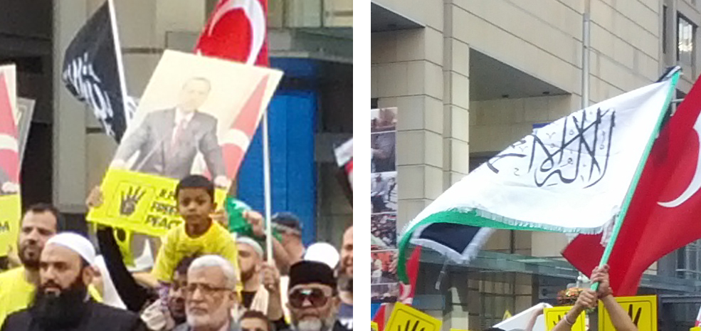 Islamist Banners in Sydney