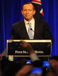 Tony Abbott Victory