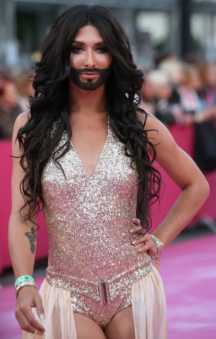 Conchita Wurst - Life Ball 2013