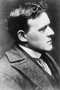 hilaire Belloc - looking left