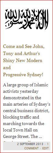 john tony and arthurs progressive sydney button