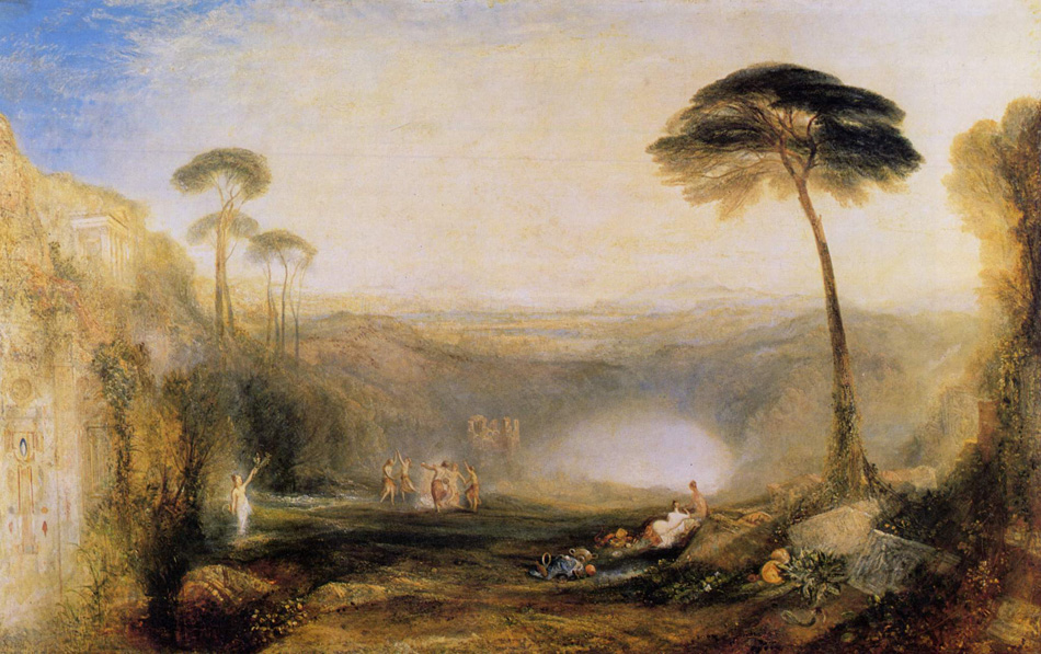 J M W Turner - The Golden Bough (1834)