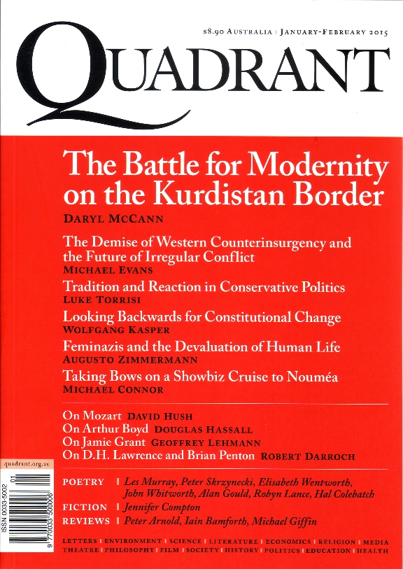 Quadrant Cover (January February 2015)
