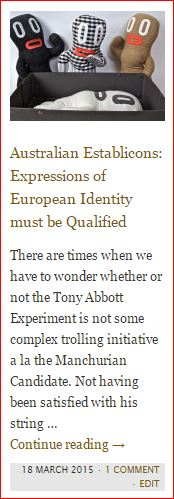 button - european identity must be qualified