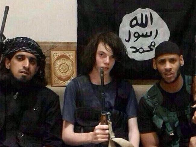 Jake Bilardi with ISIS