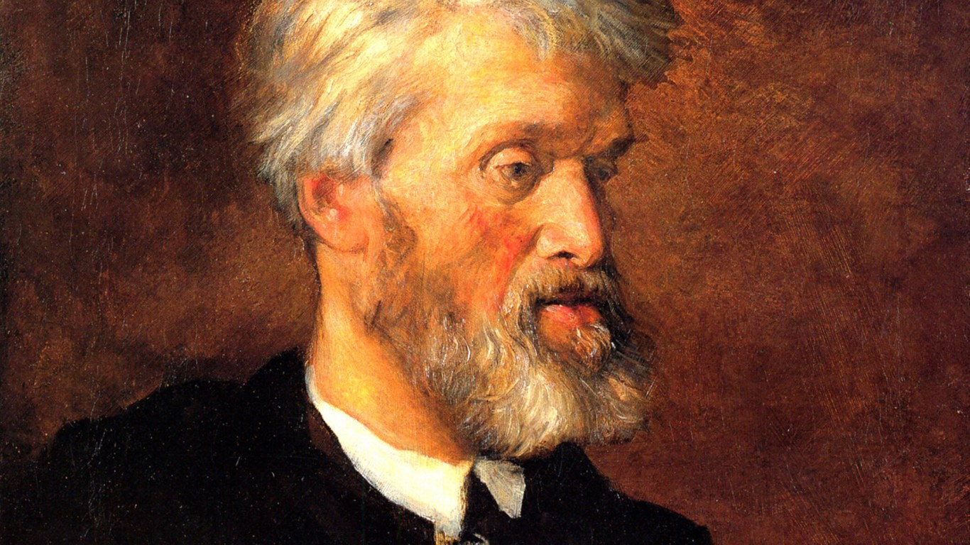 Portrait-Of-Thomas-Carlyle-by-George-Frederick-Watts