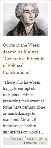 button - quote - de maistre - generative principle of political constitutions