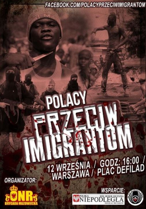 polacy przeciw imigrantom