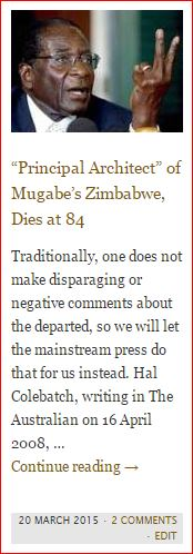 button - mugabe dead