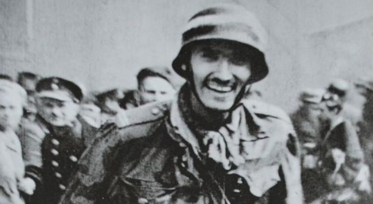 Witold Kieżun during the Warsaw Uprising, 1944.