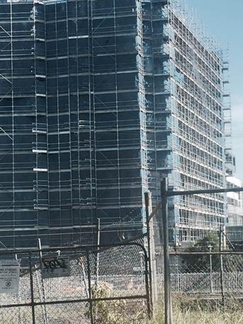 Example of Sydney urban residential development in progress 2016