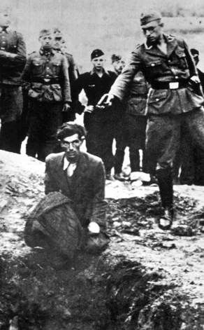 German crimes in WW2 - execution