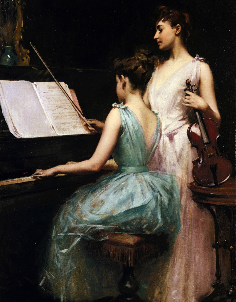Irving R. Wiles - The Sonata