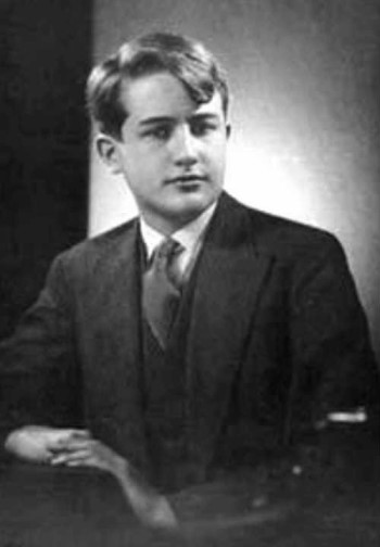 Nicolás Gómez Dávila as a young man