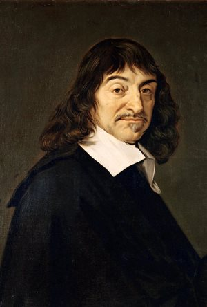 René Descartes by Frans Hals