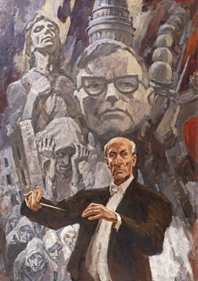 "Lev Russov, ""The Leningrad Symphony. Conducted by Yevgeny Mravinsky"" (1980)"