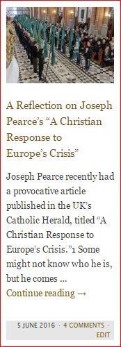 button - luke torrisi reflection on joseph pearce