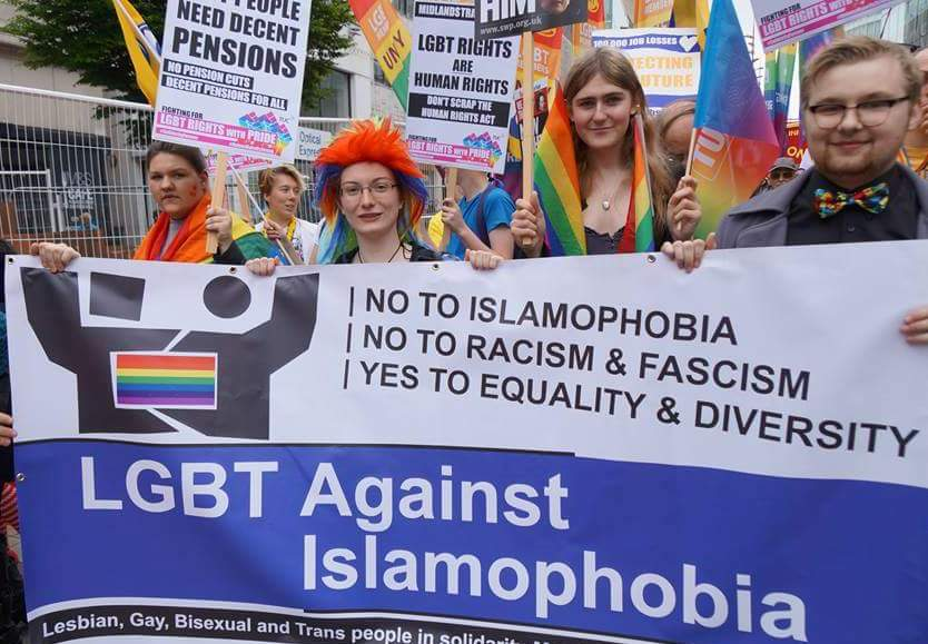 suicidal gay lobby for islamic cultural projection