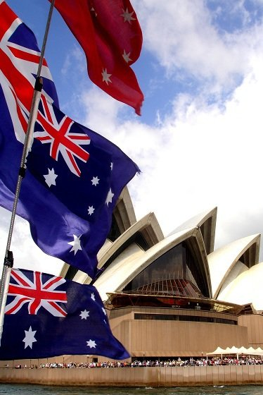 australian-flags-and-opera-house