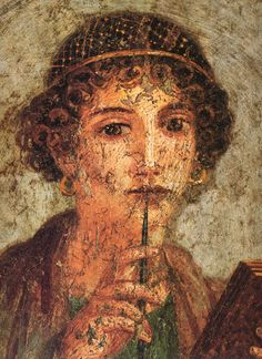 """Sappho"" of Pompeii"