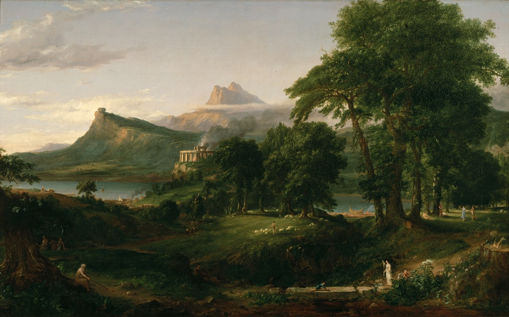 thomas-cole-the-course-of-empire-the-arcadian-or-pastoral-state-1836