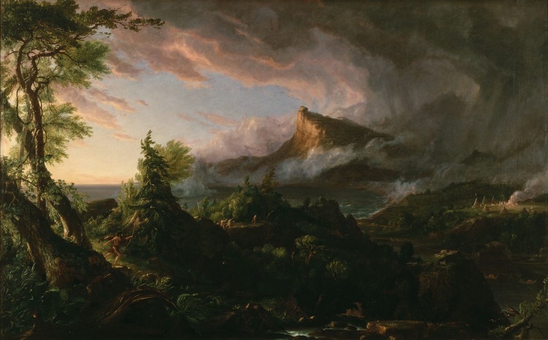 thomas-cole-the-course-of-empire-the-savage-state-1836